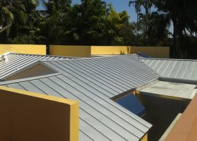 Metal Roof in Miami Springs