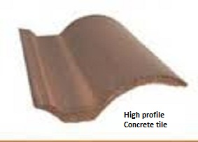 High Profile Roof Tile