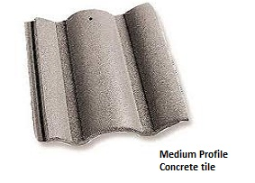 Medium Profile Roof Tile