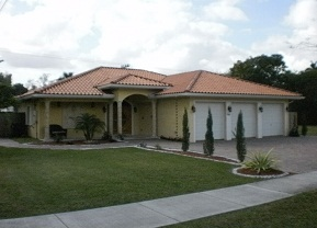 Clay Tile Roof in Miami Springs