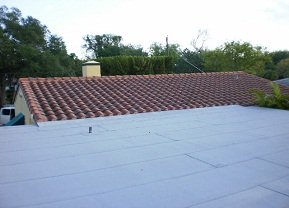 Flat Roof in Coconut Grove