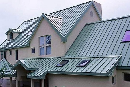 Perfect Standing Seam Metal Roof In Miami, FL.