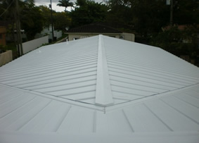 Galvalume Metal Roof System