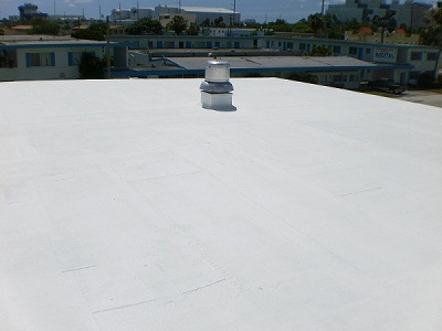 ROOF COATING AFTER