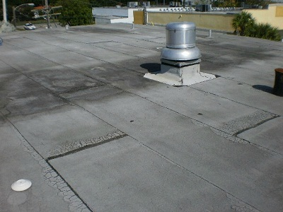 ROOF COATING BEFORE ...