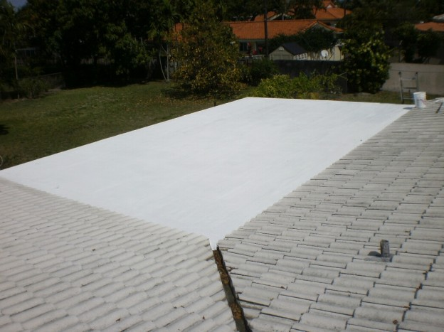 Complete Flat Roof Rehab in Miami Springs
