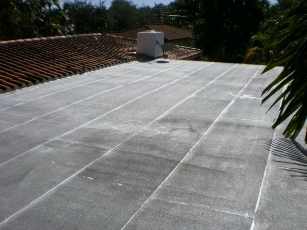 Flat Roof In Miami
