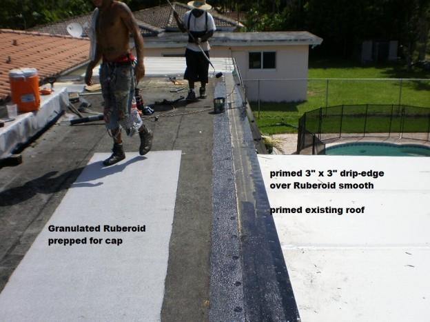 Flat Roof Repair in Miami Springs