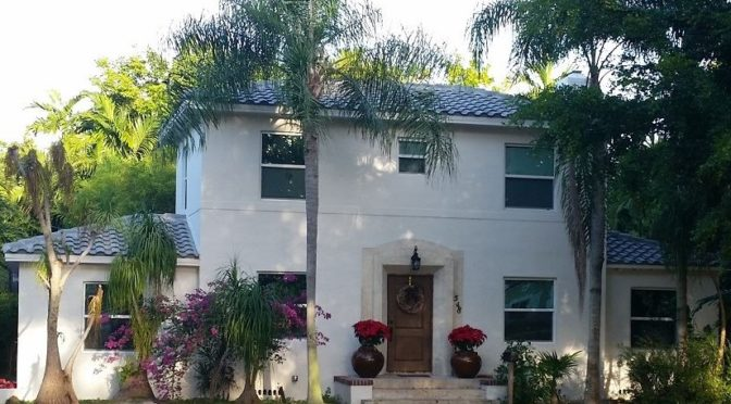 Concrete tile Roof in Miami, Fl